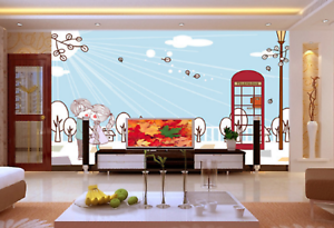 3D Sunlight Couple 85 Wall Paper Murals Wall Print Wall Wallpaper Mural AU Kyra