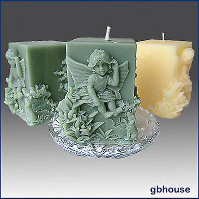 3D Silicone Soap / Candle Mold – Nina The Fairy Child