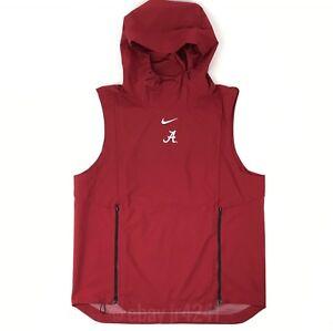 562b6567ab19 New Nike Alabama Crimson Tide Alpha Fly Rush Vest Men s Large Red ...