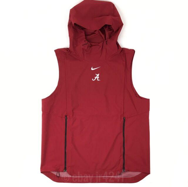 f5c357c9c8614 New Nike Alabama Crimson Tide Alpha Fly Rush Vest Men s Large Red  145  908420