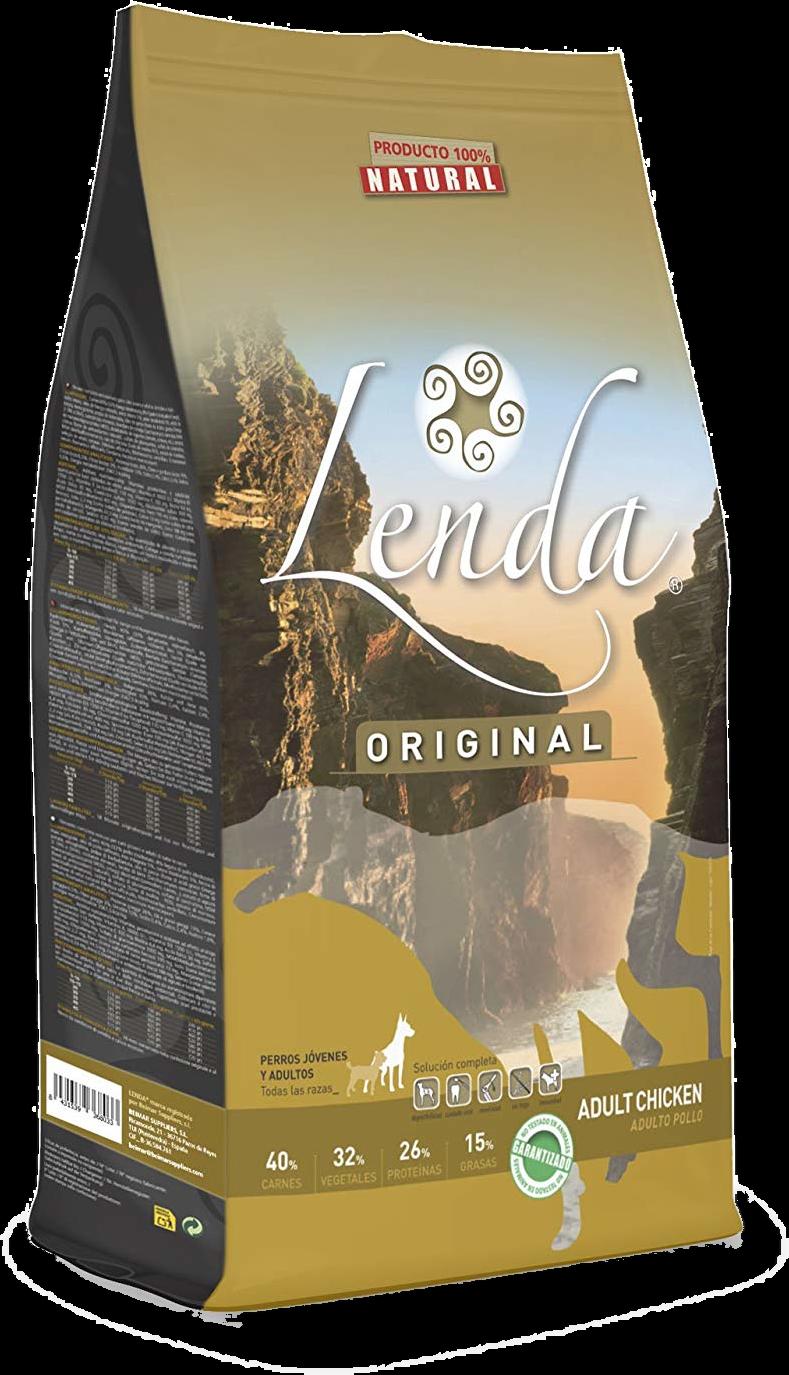Futter für Hunde Lenda Original Adult Huhn (Pflege)