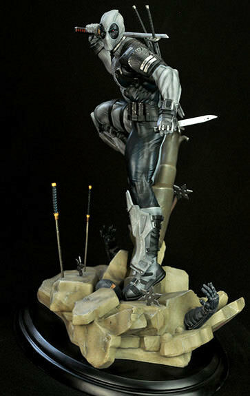 SEMIC- PROTOTYPEZ STATUE DEADPOOL X-FORCE VERSION 1 6 BY ERICK SOSA 100 WORLWIDE