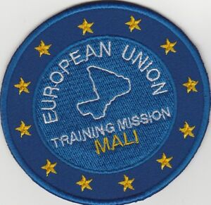 EUFOR-EU-TRAINING-MISSION-MALI-PATCH-New-Unused-FREE-SHIPPING