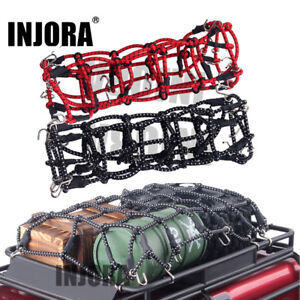 Elastic Luggage Net with Hook for 1//10 RC SCX10 D90 TRX-4 RC Crawler Roof Rack
