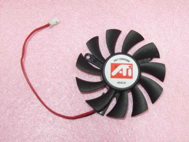 55mm ATI NVIDIA VGA Video Card Fan Replacement 39mm 2Pin 6010M12F ND1 12V 0.20A