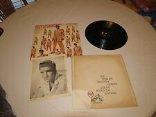 50,000 Elvis Fans Can't Be wrong Volume 2 picture LP Album RARE Record vinyl