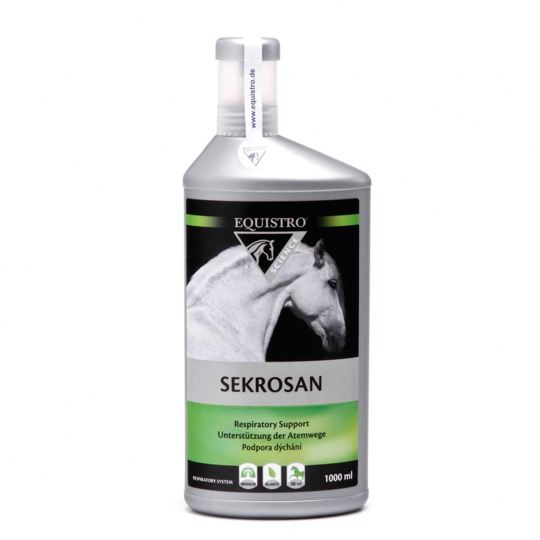 2 x Equistro Sekrosan 1l Vetoquinol Pferd zur Unterstützung Unterstützung Unterstützung des Atmungsapparat 3d0c31