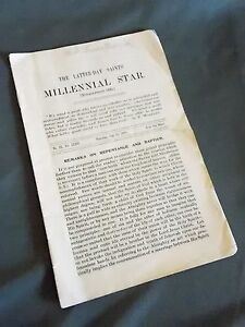 Millenial Star June 23, 1910 LDS Mormon News Pamphlet Booklet