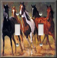 LIPIZZAN STALLION MUSTANG HORSES PHONE JACK TELEPHONE WALL PLATE COVER HOME ART