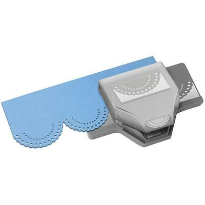 DOTTED SCALLOP Slim Edger Large Border Paper Punch by EK Success
