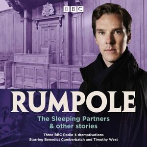 Audio-CD-Rumpole-The-Sleeping-Partners-amp-other-stories-by-John-Mortimer