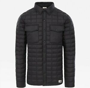 THE NORTH FACE MAN THERMOBALL SNP JACKET Giacca Uomo TNF BLACK NF0A3YQC