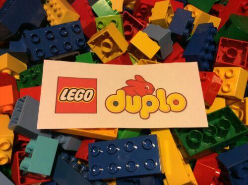MIXED BRICKS Clean /& Genuine Lego Duplo 1000g 1KG