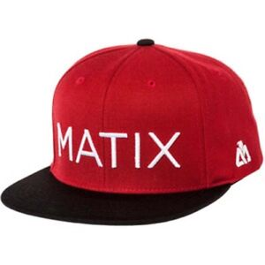 Matix Monoset Two Tone Hat (Red)