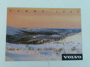 CATALOGUE-GAMME-VOLVO-1992
