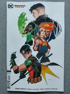 YOUNG-JUSTICE-4b-wonder-Comics-2019-DC-Universe-Comics-VF-NM-Book