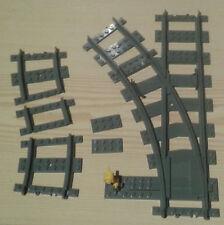 LEGO® City Eisenbahn flexible Weiche links 7895 7499 7996         bricktrain