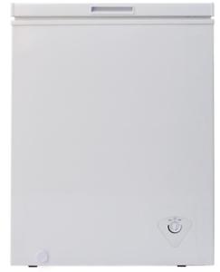 3.5 cu. ft. Chest Freezer White Compact Small Apartment Dorm Home ...