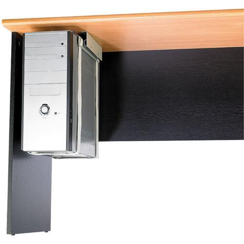 Computerhalterung Universal-Schienen-Halterung zur PC-Untertisch-Montage
