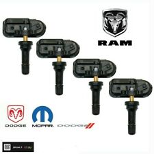 New Set Of 4 Oem 2014 17 Dodge Ram 1500 2500 3500 Tire Pressure Sensor Tpms