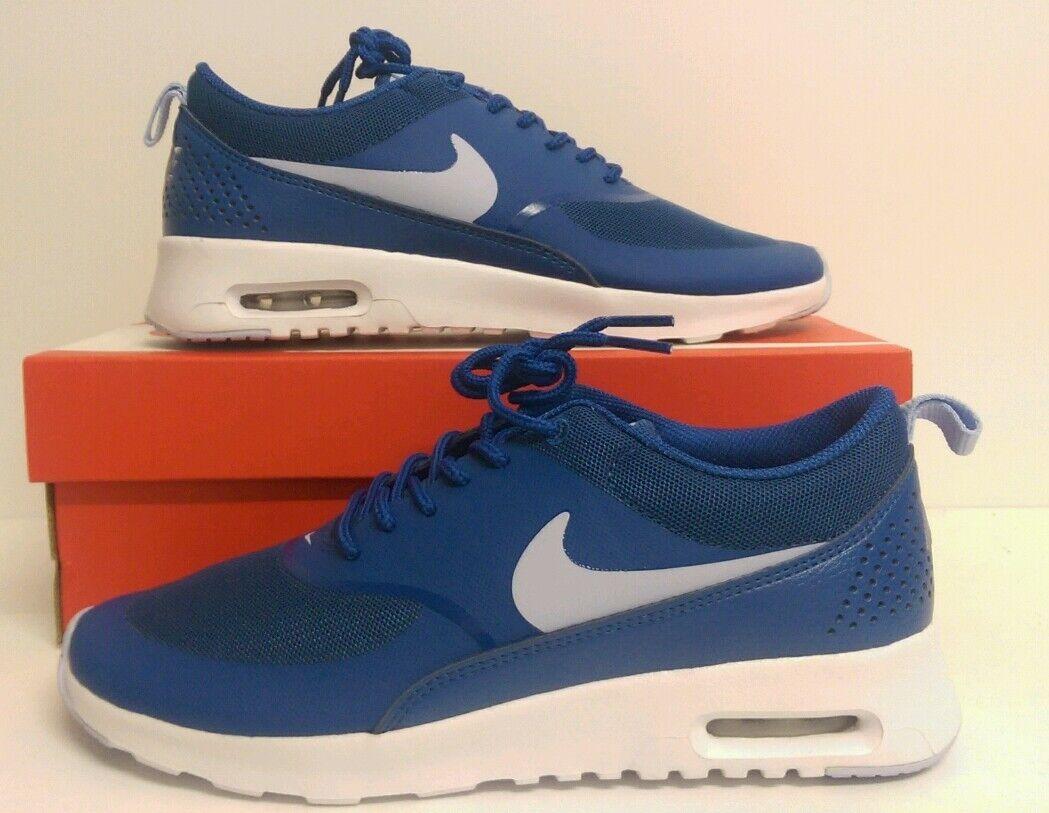 Nike Air Max  Thea femmes Trainers  Max Junior Brigade Bleu  blanc   2bd987