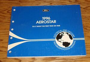 1996 ford aerostar wiring diagram evtm manual 96 ebay rh ebay co uk 1996 ford aerostar stereo wiring diagram 1937 Ford Wiring Diagram