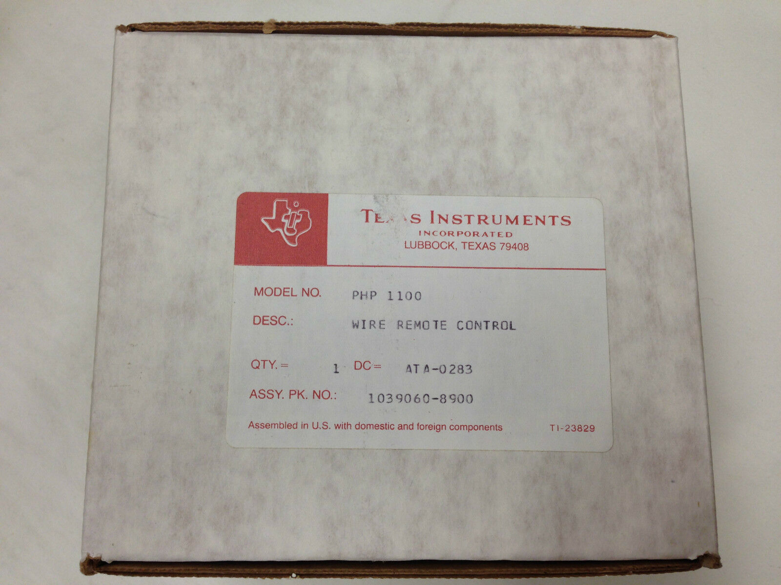 Texas Instruments TI 99/4a Joysticks (wired controllers) - FRESH CASE NEW NOS