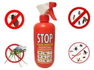 Spray insetticida multi insetto 375 ml stop zanzare mosche for Formiche volanti in casa