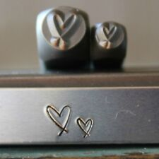SUPPLY GUY 6mm Paw Heart Metal Punch Design Stamp SGCH-76