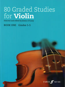 80 Classés Studies For Violin Book 1 O 'leary-afficher Le Titre D'origine Luxuriant In Design