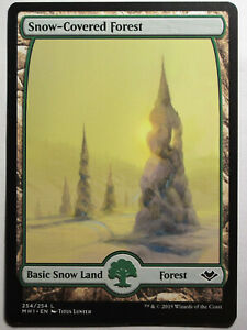 Snow-Covered-Forest-Mtg-Magic-English