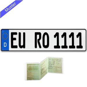1-Stueck-EU-KFZ-Kennzeichen-Nummernschild-fuer-PKW-Anhaenger-Fahrradtraeger