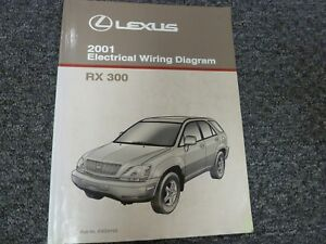 2001 Lexus RX 300 Crossover Electrical Wiring Diagram ...