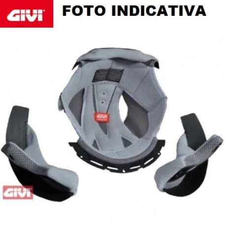 GIVI Z221260R FODERA RIVESTIMENTO INTERNO CASCO TG.60 CON GUANCETTE CASCO H50.1