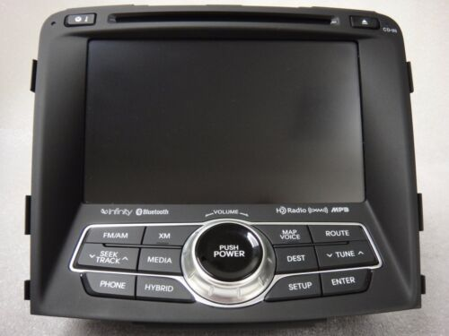 Hyundai OEM GPS XM HD Radio Navigation GPS Bluetooth MP3 CD Player 96560-3Q5054X