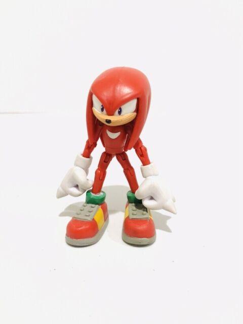 """Sega Jazwares Sonic The Hedgehog 3/"""" Inch Knuckles action figure"""