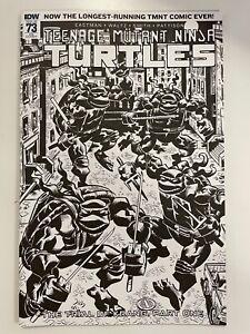 IDW TEENAGE MUTANT NINJA TURTLES #73 NINJATURTLES.COM RE COVER : NM CONDITION