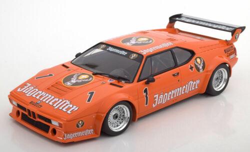 1:18 Minichamps BMW M1  #1 DRT Wunstorf König 1982 Jägermeister