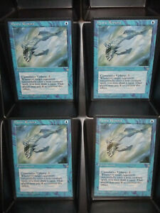 Mystic-Remora-Ice-Age-Magic-The-Gathering-Unplayed-Playset-MTG-Cards-4x-x4-NM