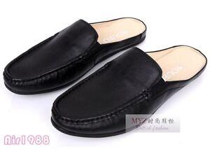flats casual mens slides mules shoes