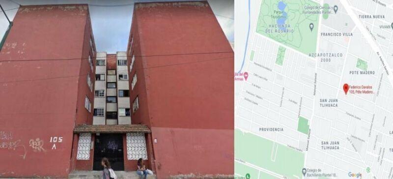 DEPTO EN RECUPERACION BANCARIA Federico Davalos San Juan Tlihuaca Azcapotzalco NO SE ACEPTAN CREDITO