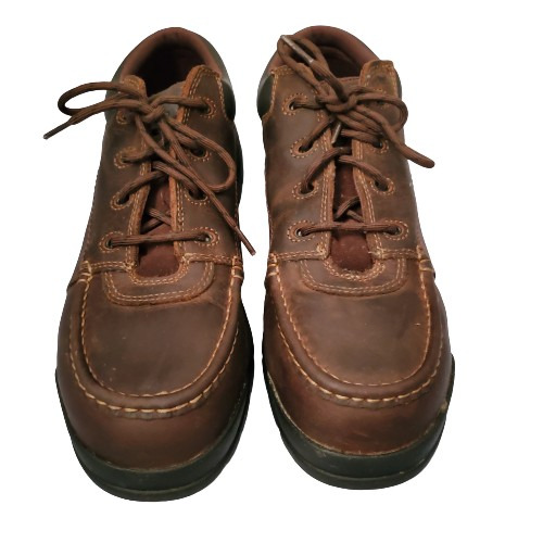 Wolverine Men's Oil And Slip Resistant Moc Toe Work Shoes Brown Size 12M