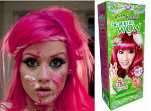 Haarfarbe-Haarfaerbung-Coloration-Intensivtoenung-Haar-Cosplay-Gothic-Punk-PINK-J5