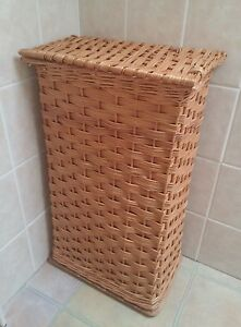 New-Small-Size-TOTALLY-ENGLISH-Willow-laundry-basket-rectangular-shape