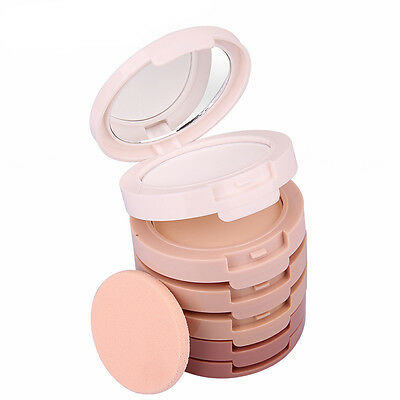 Smooth Makeup 5 Colors Face Powder Contour Shading Concealer Palette Foundation