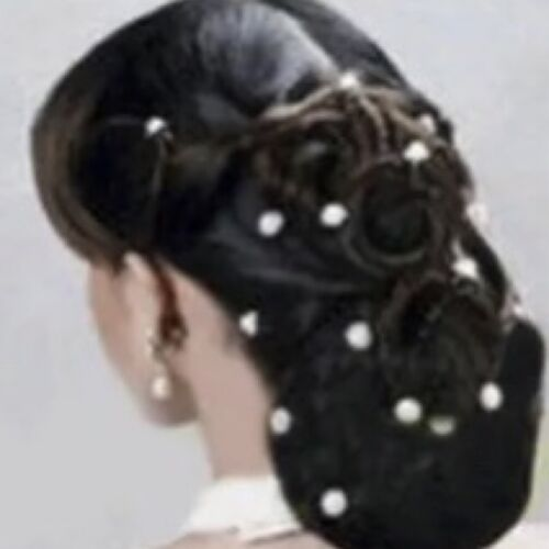 20 x Wedding Bridal Pearl Flower Rhinestone Hair Pins Clips for Bridesmaid//Bride