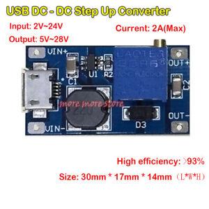 Micro-USB-DC-DC-5V-9V-12V-24V-2A-Boost-Step-Up-Converter-Power-Supply-Module
