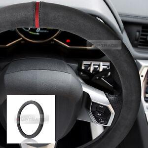 Details About Original Alcantara Racing Grip Dark Gray Steering Wheel Cover For All Vehicle