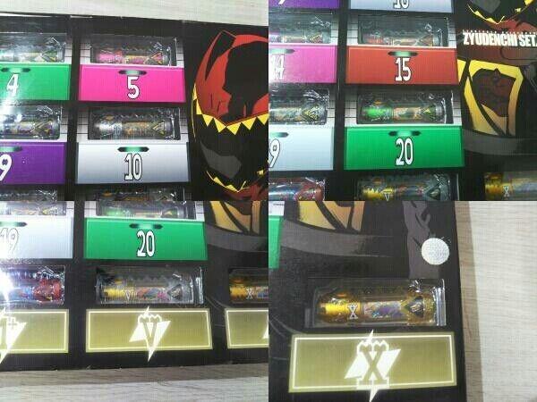 Zyuden Sentai Kyoryuger Zyudenchi Beast Battery Set DX Bandai At1029 for sale online