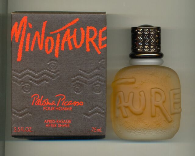 Paloma Picasso Minotaure (COSMAIR)  After Shave Lotion 75ml Splash (No Spray)